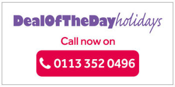Deal of the Day - Call to book!