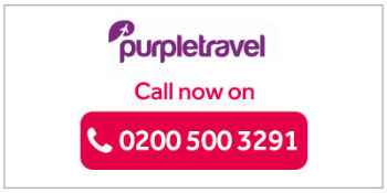 Purple Travel - Call to book!